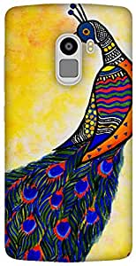 The Racoon Lean Colours in my wing hard plastic printed back case / cover for Lenovo K4 Note