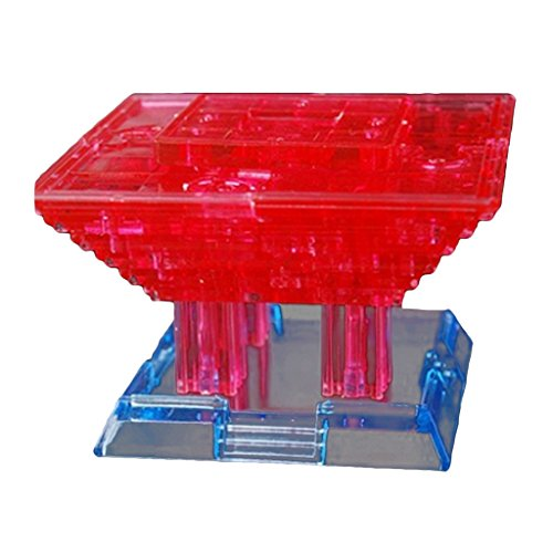 Homyl Crystal Puzzle, Kristallpuzzle - chinesisches pavillion