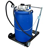 AdBlue® Membranpumpe SB 34 fahrbar für 200 l Fässer inkl. Automatik-Pistole ASB