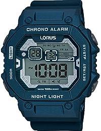 Lorus R2399KX9 - Reloj de pulsera hombre, Silicona, color Azul