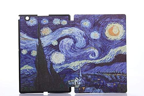GOGODOG Coque Sony Xperia Z4 Tablet Étui en Cuir de Protection de Corps de Dessin animé Mince étui 7.0 Pouces Protecteur de Coque Porte-Tablette pour Z4 Tablet (Ensoleillé)