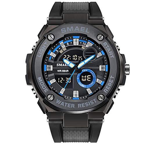 SMAEL Marke Luxus Männer Militäruhren Herren Digital Sportuhren Quarz-Armbanduhren Wasserdicht 1625,C