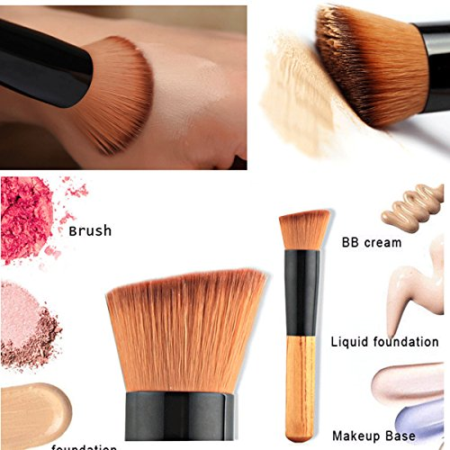 Boolavard Foundation Brush - Liquid Foundation Brush - Visage Pinceaux - Pinceau - Blending Brush - Maquillage Pinceaux - professionnels Make Up Brushes - Visage Make Up Brushes