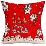 Kopfkissen, zolimx Weihnachten Kissen Fall Sofa Taille Überwurf Kissenbezug Home Decor, 45cm * 45cm