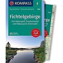 Fichtelgebirge mit Naturpark Frankenwald und Naturpark Steinwald: Wanderführer mit Extra-Tourenkarte, 55Touren, GPX-Daten zum Download. (KOMPASS-Wanderführer, Band 5268)