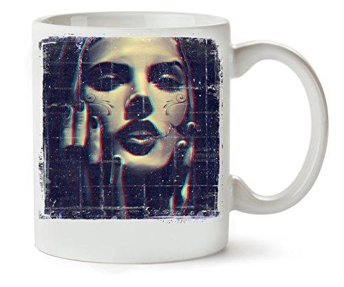 Collection Photoshoot Santa Muerte Of The Style Klassische Teetasse Kaffeetasse (Halloween Candy Tumblr)
