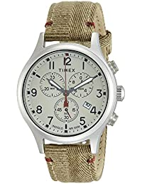 Timex Analog Off-White Dial Men's Watch-TW2R60500