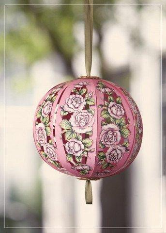 Lusso Compleanno Fiore sfera di rose con bouquet di fiori 3d 2in 1Card, Originale