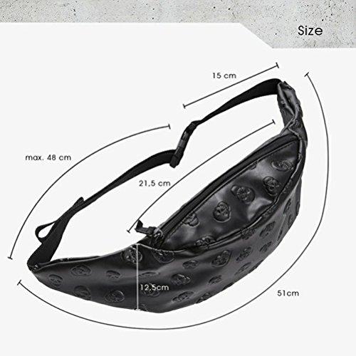 Alaani - Riñonera negro negro