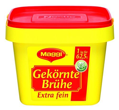 Maggi Gekörnte Brühe 1kg 8383, 1er Pack (1 x 1 kg)