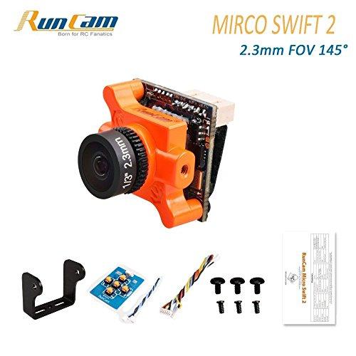 Runcam Micro Swift 2 fpv Kamera 600TVL 2.3MM Objektiv 1/3