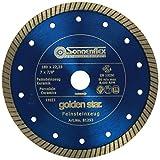Sonnenflex Golden Star Diamant- Trennscheiben Feinsteinzeug, 180 x 22,23 mm, 81253