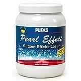 Pufas Pearl Effect Lasur Effektlasur 1,5 L extrafeiner goldener Glitzer-Effekt