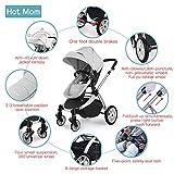 Hot Mom Passeggini Buggy bambini passeggino,Grigio