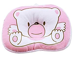 Hot Newborn Baby Boy Girl Anti-roll Pillow Flat Head Sleeping Positioner Bear