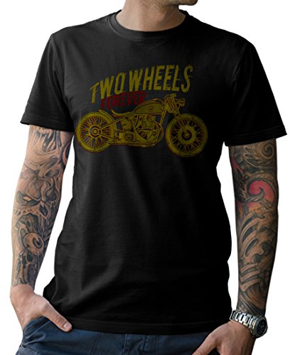 NG articlezz - T-Shirt Biker Cafe Racer Oldschool Custom Bike Gr. S-5XL -