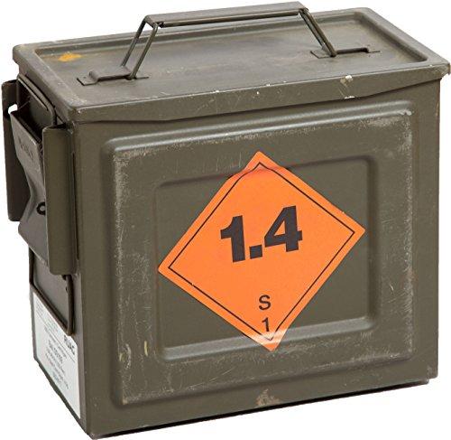 """Originale Munitionskiste """"S109"""" Aufbewahrungskiste ca 26,5x14,5x23cm Militärkiste Munitionsbox Holzkiste Holzbox Weinkiste Apfelkiste Shabby Vintage"""