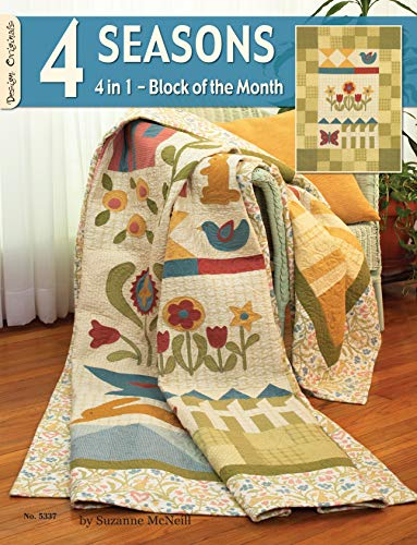Fox Block (4 Seasons: 4 in 1 - Block of the Month (Design Originals))