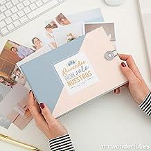 """Mr. Wonderful Álbum con mensaje """"Recuerdos que son solo nuestros"""""""