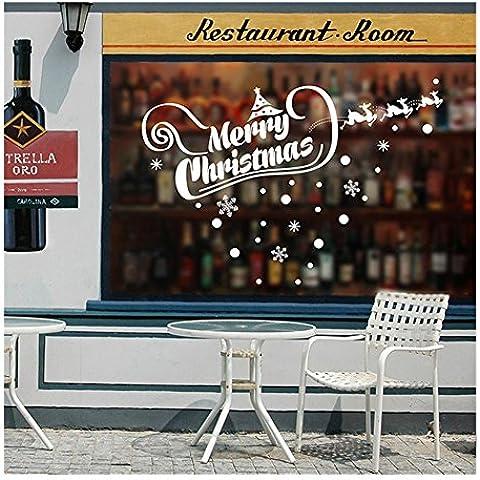 pared de la navidad linda de la nieve de navidad elk tienda de
