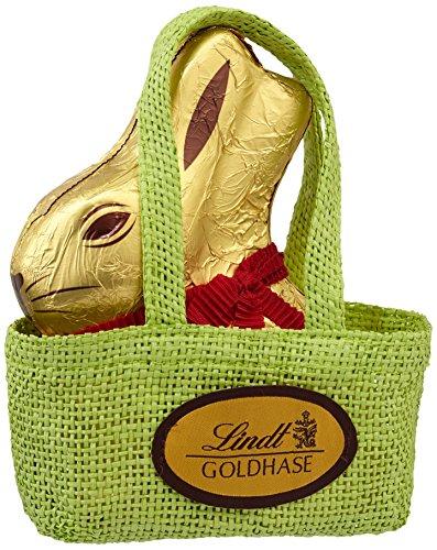 Lindt & Sprüngli Goldhase in der Tasche, 1er Pack (1 x 200 g) -