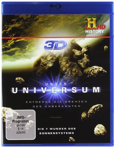 Polyband/WVG Unser Universum - Die 7 Wunder des Sonnensystems [3D Blu-ray]