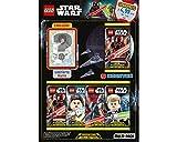 Unbekannt Lego Star Wars - Serie 1 Trading Cards - 1 Multipack - Deutsch