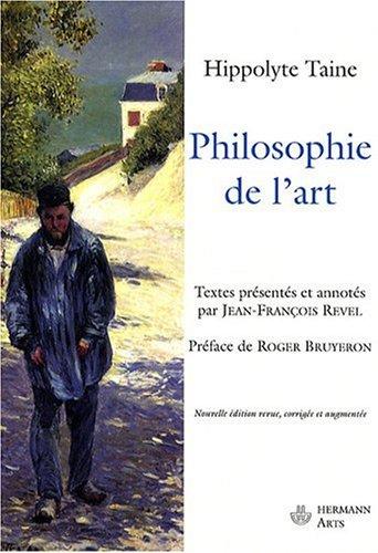 Philosophie de l'art