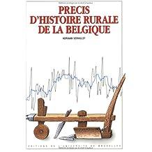 Précis d'histoire rurale de la Belgique