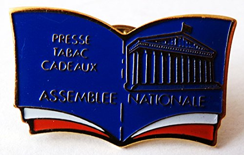 Press tabac Cadeaux - Assemblee Nationale - Pin 27 x 17 mm