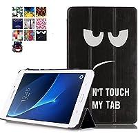 Funda para el Tablet Tab A 7.0 T280 Cuero,Ultra Slim Lightweight Funda Case de Cuero para 7''Tablet Samsung Galaxy Tab A 7.0 (2016) SM-T280 SM-T285 Smart Cover Case Carcasa Piel con Stand Función