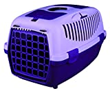 Cat / Dog Transport Box Capri - Medium - 37 × 34 × 55 cm, violet/lilac