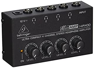 Behringer HA400 Microamp 4 Channel Stereo Headphone Amplifier (B000KIPT30) | Amazon Products