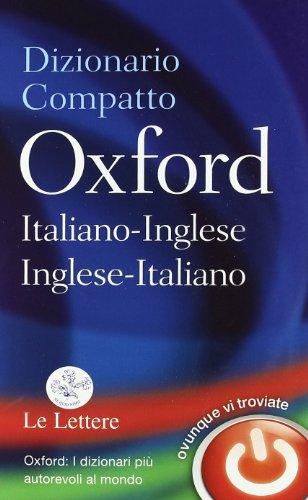 DIZIONARIO COMPATTO OXFORD ITA/ING