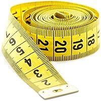 Generic Pack de 1cinta métrica costura Tailor Amarillo