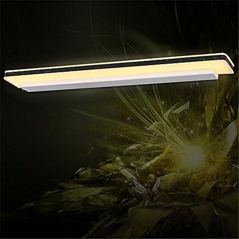 LLHZ-LED Luce specchio, semplice, doccia, acqua, nebbia, lampade a muro, lo specchio del bagno armadio luci a specchio, bagno , luci di 60*5*8 cm - 8 Glass Mirror Ball