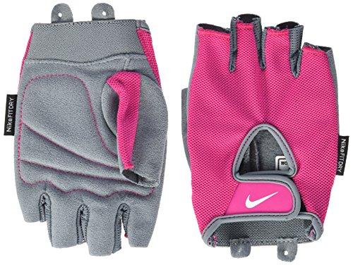 Nike Damen Handschuhe Fundamental, Rot/Grau, M, N.LG.90.687.MD
