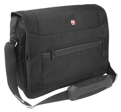 Wenger Messenger Bag mit Laptopfach 16 Zoll Business Basic, schwarz, 24 liters, W73012292