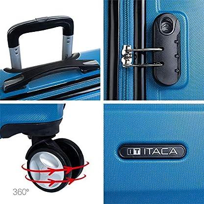 ITACA-Juego-Set-3-Maletas-Trolley-ABS-Rgidas-resistentes-y-ligeras-Mango-telescpico-2-asas-4-ruedas-dobles-Candado-integrado-Pequea-Low-Cost-T71600