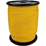 PP Seil Polypropylenseil SH 3mm 100m Farbe Kanariengelb (0120) Geflochten
