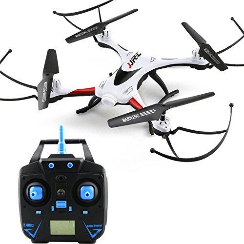 Wasserdichte RC Drohne JJRC H31 Wind Resisting RC Quadcopter mit LED-Leuchten RTF-Modus One-Key-Return Headless-Modus - 2,4 GHz 6-Achsen-Gyro - Weiß