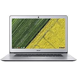 Acer Chromebook 15 CB515-1HT-P58C 39,6 cm (15,6 Zoll Full-HD IPS) Notebook (Intel Pentium N4200 Quad-Core, 8GB RAM, 64GB eMMC, Intel HD, Chrome OS) silber Acer Chromebook