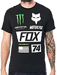 Tee shirt Fox Union Collection Noir