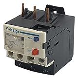 TOOGOO(R) 3 Polos AC 9A - 13A Electrico Rele De Sobrecarga Termica 1 NO 1 NC