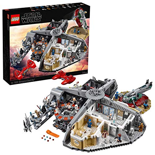 (LEGO Star Wars Set, Verrat in Cloud City (75222), Star Wars Spielzeug)