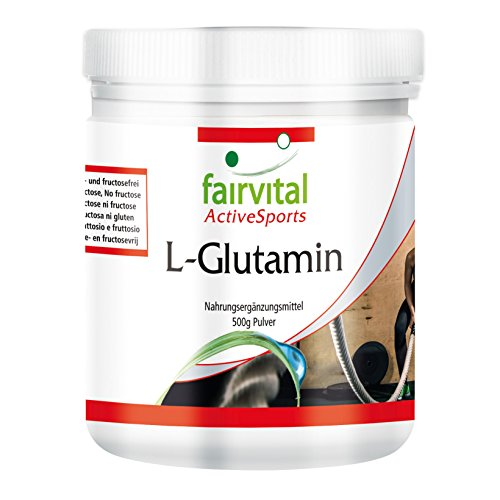 L-Glutamine - 500g sous forme de poudre - Acide...