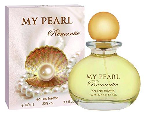 My Pearl Romantic Eau de Toilette für Damen / 100 ml Flakon - Verkaufspreis: € 29.00 + Bestes Geschenk für Sie + Sale Parfüm