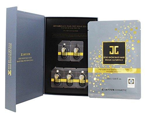 JAYJUN Cosmetics Maske aus goldenem Schnee und Serum. 0,85 fl. Oz / 0,03 Flüssigunzen.