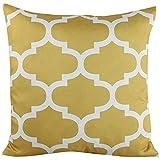 San Bodhi® Home dekoratives Leinenkissen Bezug Sofa Stuhl Sitz Baumwollleinen, quadratisch