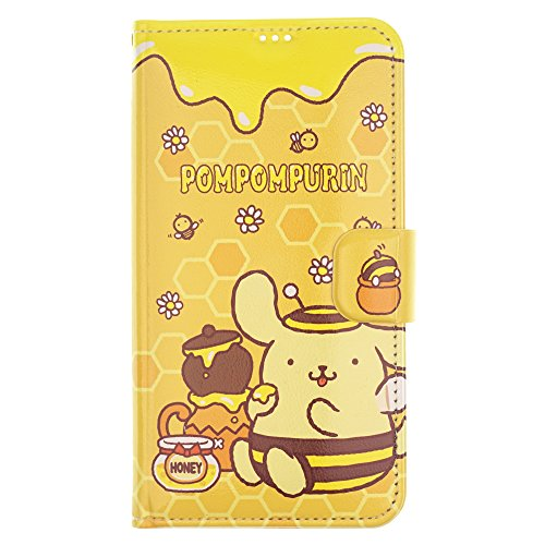 Sanrio Cute Flip Case für iPhone 6S Plus/iPhone 6 Plus, Pompompurin Honey Pot (iPhone 6S Plus/iPhone 6 Plus)